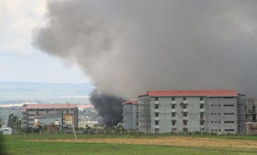 Kilinto detention center on fire
