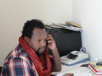 Journalist Temsegen Dessalege